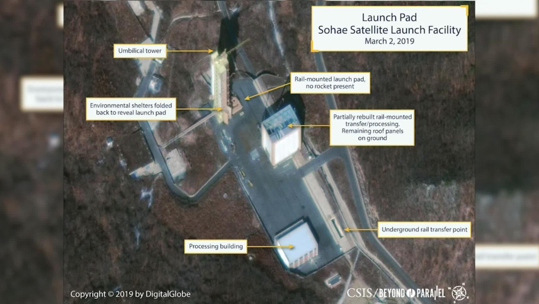Posible actividad en sitio de misiles en Corea del Norte