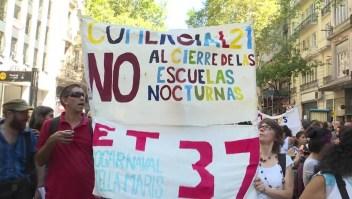 ¿Por qué hay un paro nacional de docentes en Argentina?
