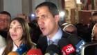 Aplauden a Juan Guaidó el miércoles de ceniza en Caracas