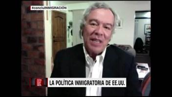 """Alarcón Acosta: """"Son solicitantes de asilo, no personas que quieren trabajar ilegalmente"""""""