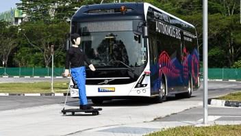 Así es el primer autobús de conducción autónoma