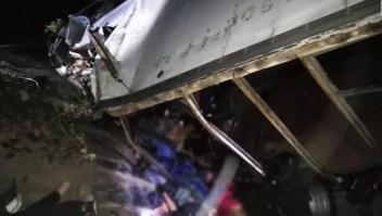 Mortal accidente en Chiapas deja al menos 25 muertos