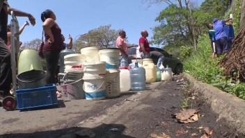 La falta de agua se une a los apagones