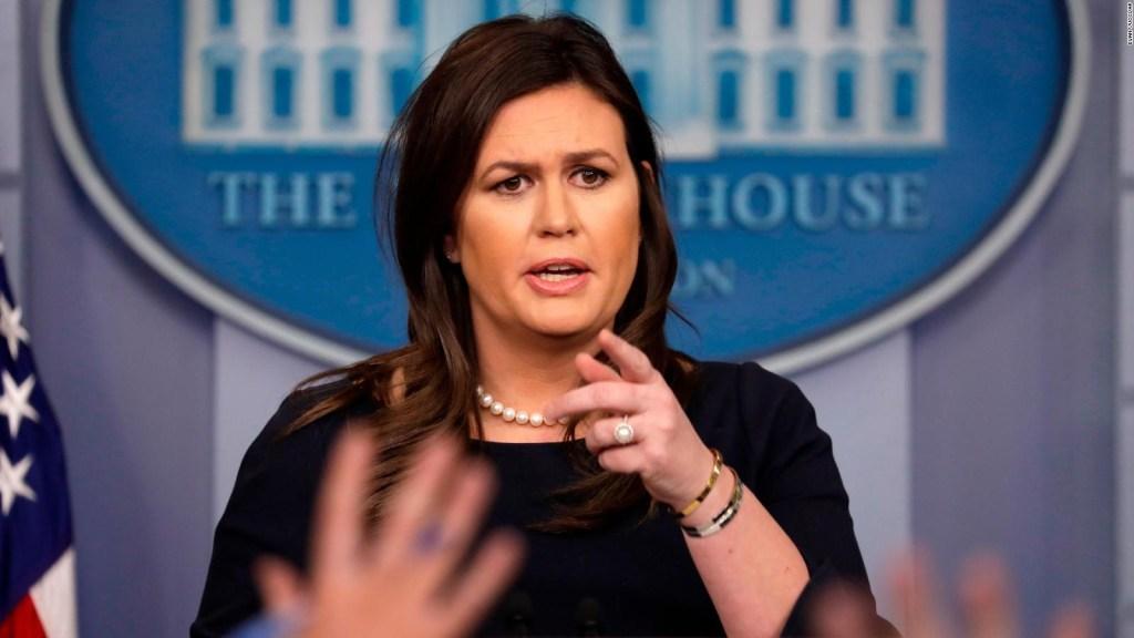 Sarah Sanders: Cohen es un mentiroso