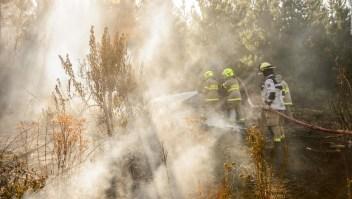 Autoridades de Veracruz controlan 35% de incendio
