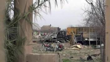 Dentro de la última franja de tierra dominada por ISIS