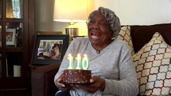 Abuela que conoció a Obama celebra 110 años