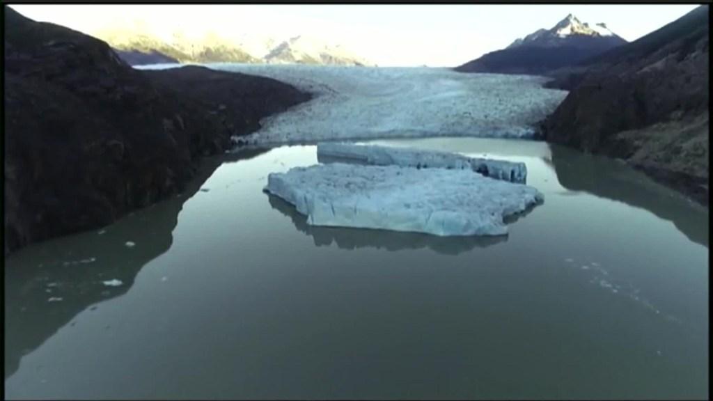 La patagonia chilena se derrite