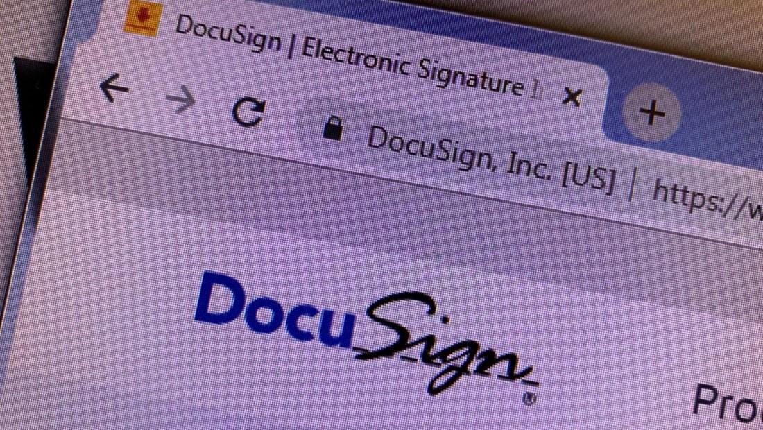 DocuSign cerró negativo en su primer año en la bolsa