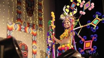 Indígena gana concurso de belleza en México