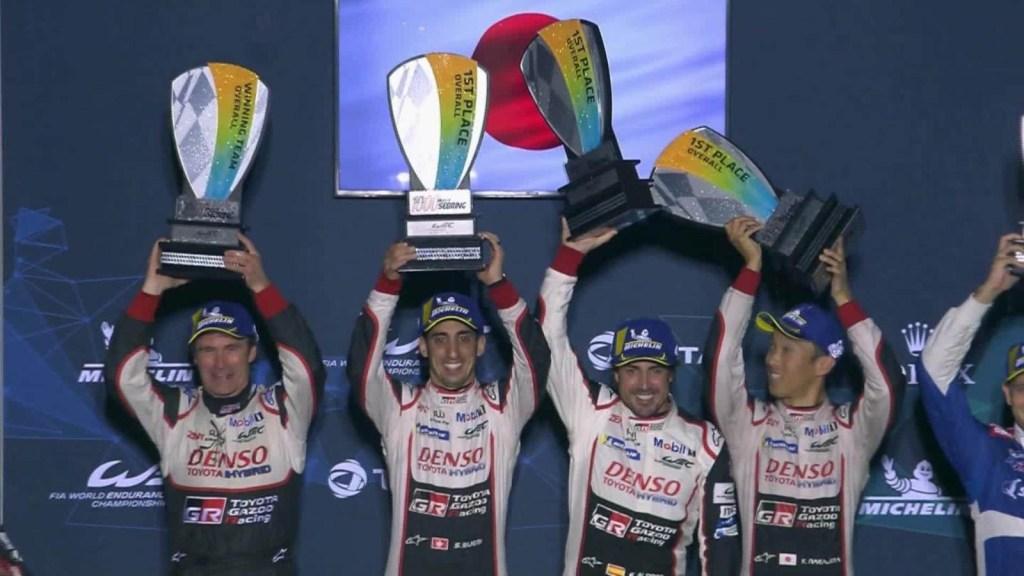 Minuto Rolex: Fernando Alonso y su equipo se impusieron en las 1000 millas de Sebring