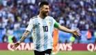 Messi regresa a la selección argentina después de 8 meses