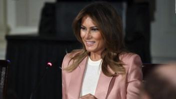 Melania Trump promueve agenda con jóvenes