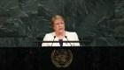 Bachelet: Hay tortura y asesinatos en Venezuela sin motivos