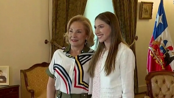 Esposa de Guaidó se reúne con venezolanos en Chile