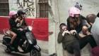 Tini Stoessel y Sebastián Yatra cayeron de una moto y despertaron rumores