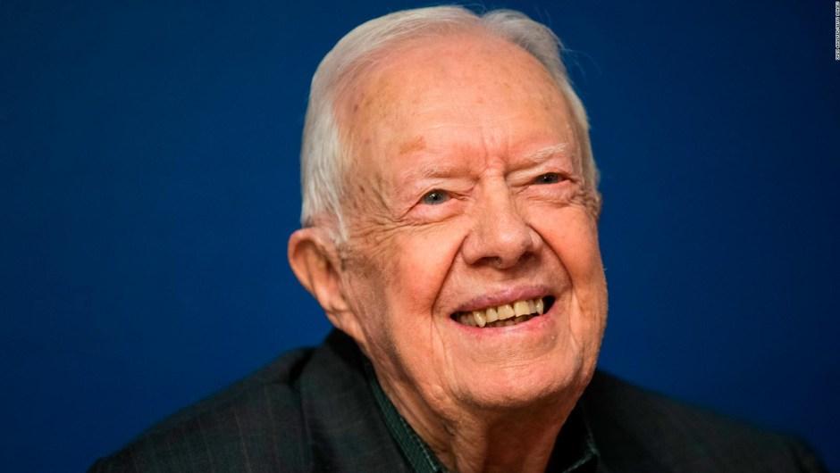 Jimmy Carter es el expresidente más longevo de EE.UU.