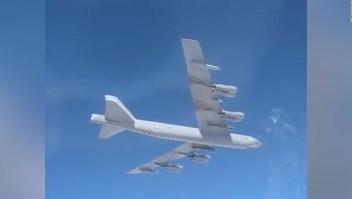 ¿Es verdad o mentira que un avión ruso persiguió a un bombardero de EE.UU.?