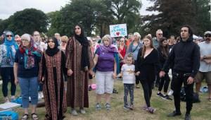 Oraciones para las víctimas del ataque en Christchurch