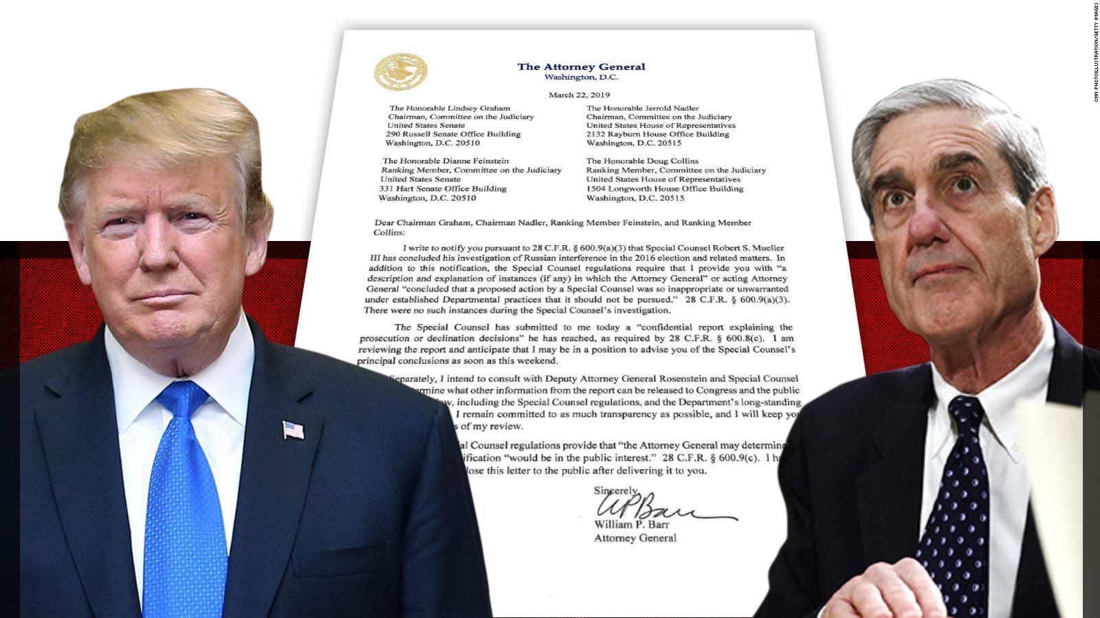 Lo que ya ha revelado la investigación de Robert Mueller