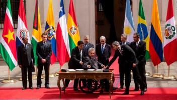 #HechoDelDía: cumbre de presidentes para oficializar el Prosur