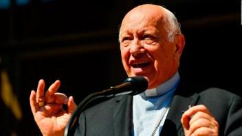 Papa acepta la renuncia del arzobispo de Santiago de Chile