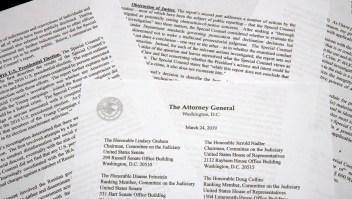 Las claves de la investigación de Mueller, según Barr