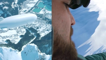Una hazaña sobre los Alpes austríacos que tomó 2 años de preparación