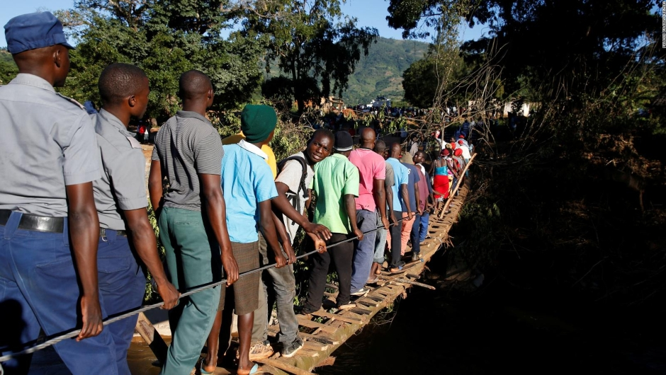 Ayuda urgente en Mozambique