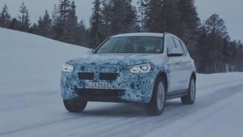 BMW prueba sus autos en el frío polar