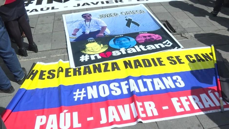 ¿Por qué existiría desinformación en el secuestro y asesinato de los periodistas de El Comercio?