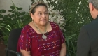 """Rigoberta Menchú: """"No quiero ser juez y parte de este debate"""""""