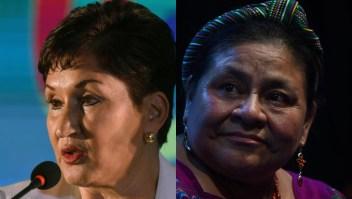 Menchú cree que Aldana ganaría la presidencia