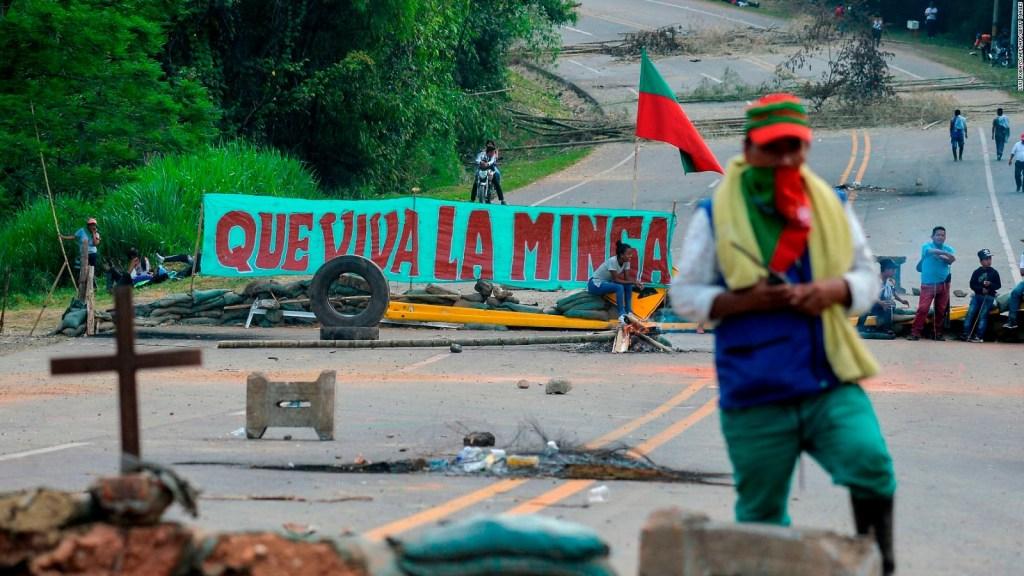 Desacuerdo entre los indígenas y el Gobierno de Colombia