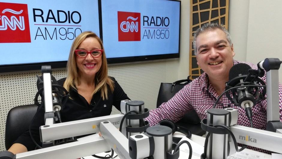 Marcela Godoy y Daniel Cufré.
