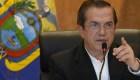 Patiño defiende su decisión de abandonar a Ecuador