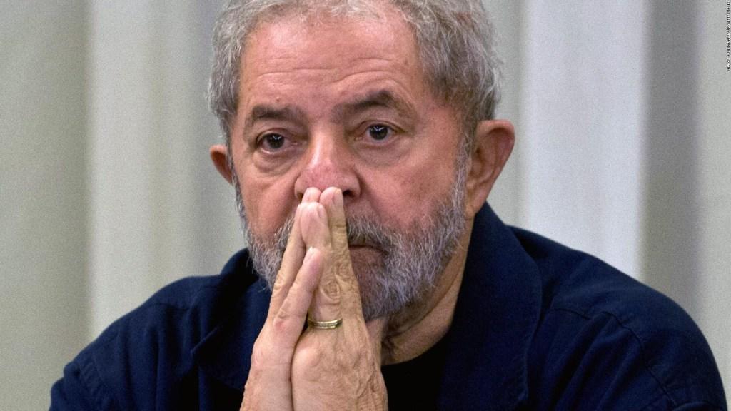 Manifestantes en Brasil expresan apoyo a Lula da Silva