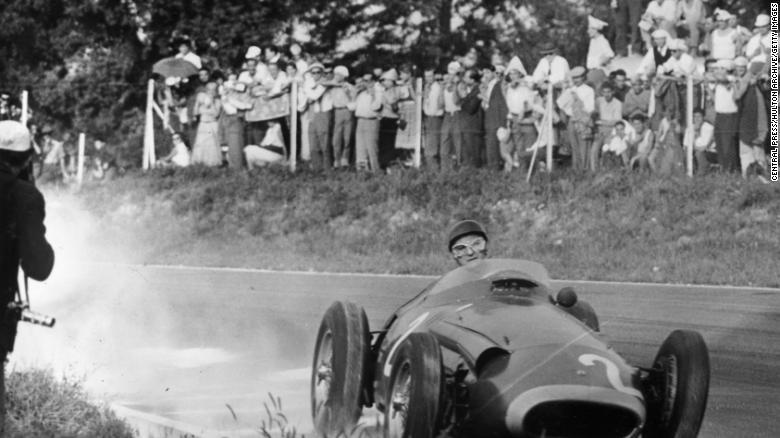 Maserati 250F, Juan Manuel Fangio