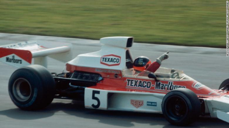McLaren M23, Emerson Fittipaldi