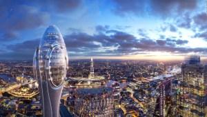 Un rascacielos en forma de tulipán dominará el paisaje londinense