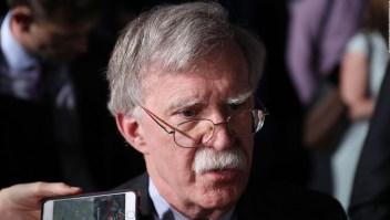 ¿Anunciará Bolton nuevas sanciones para Venezuela?