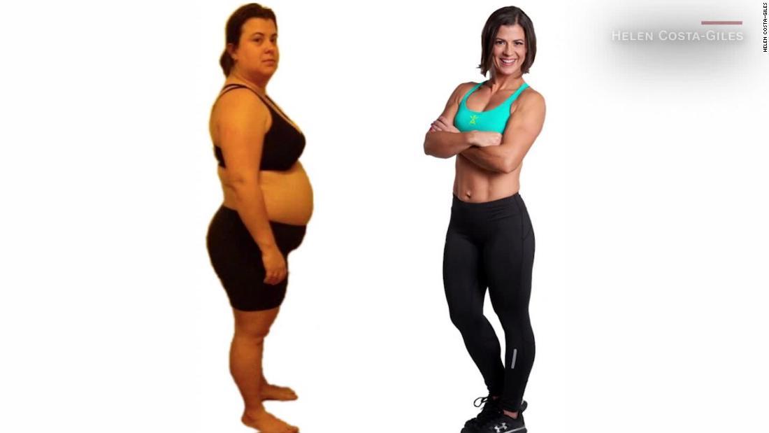 Mujer, peso, pérdida de peso, Texas, ejercicios