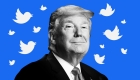 Trump recibe al presidente de Twitter