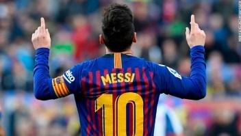 Messi barcelona manchester partido dios goles