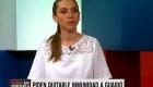 """Fabiana Rosales: """"Nunca he imaginado a Juan encarcelado"""""""