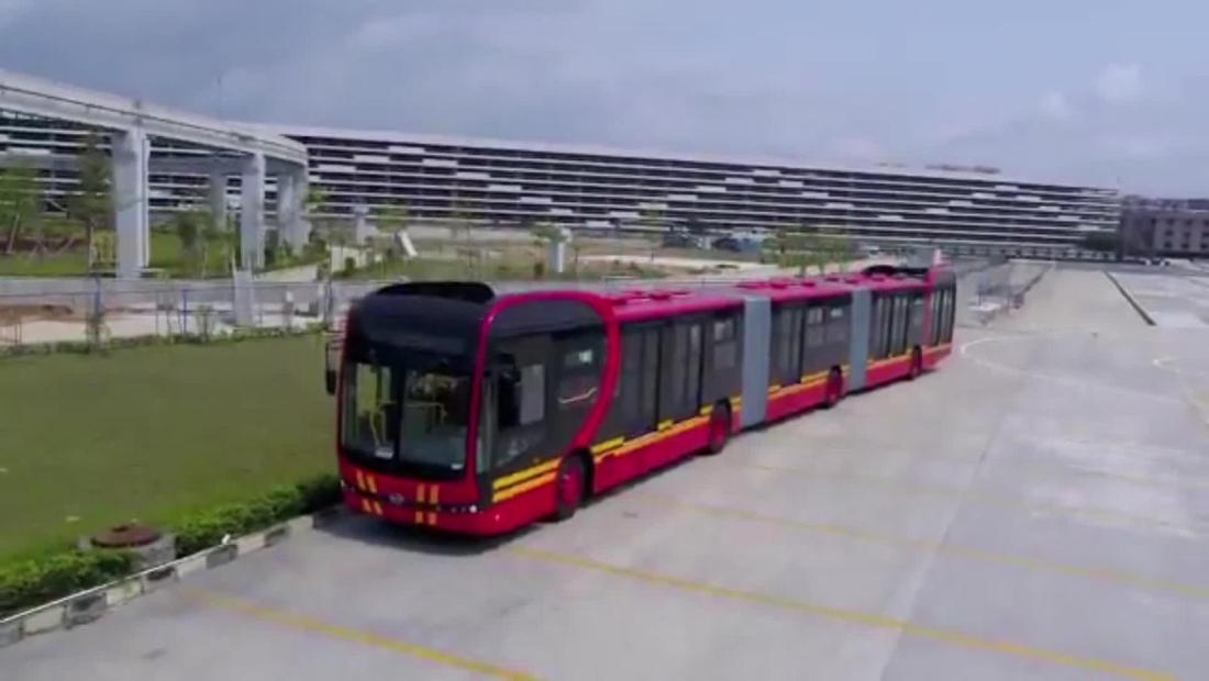Bogotá tendrá el autobús eléctrico más largo del mundo