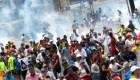 Manifestantes venezolanos: Por favor, no nos repriman