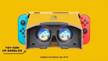 """Nintendo anuncia lanzamiento de """"Mario"""" y """"Zelda"""" en realidad virtual"""