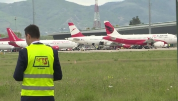 Un insólito robo en un aeropuerto de Albania
