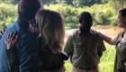 Imágenes exclusivas de liberación de turista en Uganda